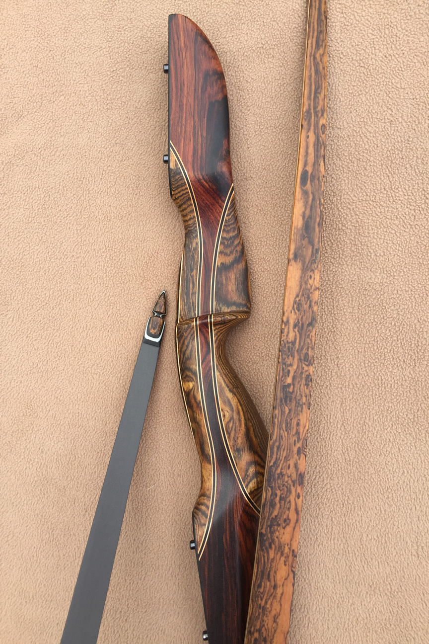 Custom Longbows | Custom Traditional Bows by Black River Bows